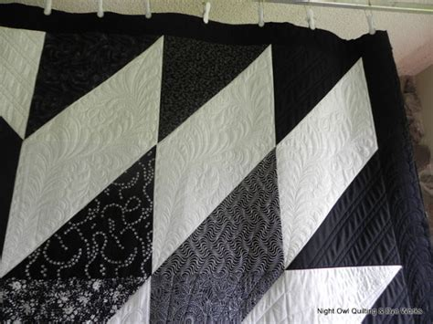 black and white hst quilt pattern night owl quilting dye works black and white hst quilt