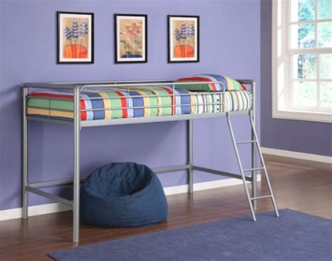 dhp junior loft beds twin size mattress silver bedroom