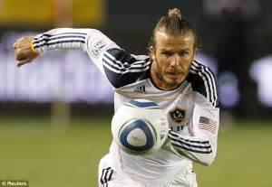 european soccer player ponytail david beckham should run english football at the fa