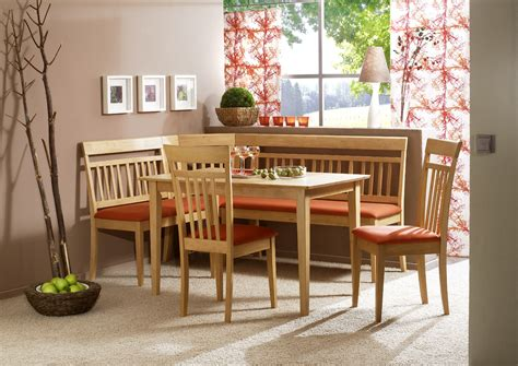 Breakfast Nook Kitchen Table Modern Corner Bench Breakfast Kitchen Nook Dining Set Ebay