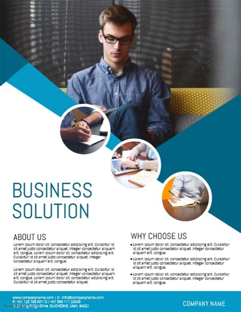 Corporate Flyer Template Postermywall Free Business Ad Template