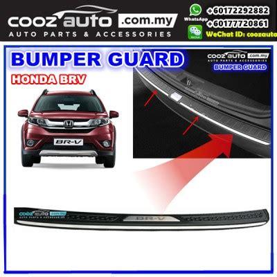 Garnish Bumper Belakang Chrome Honda Brv honda brv br v chrome abs rear bumper guards protector