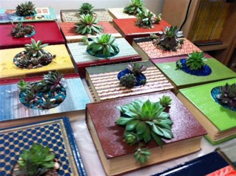 How To Make A Book Planter by 15 Best Indoor Succulent Planting Ideas That Can Beautify