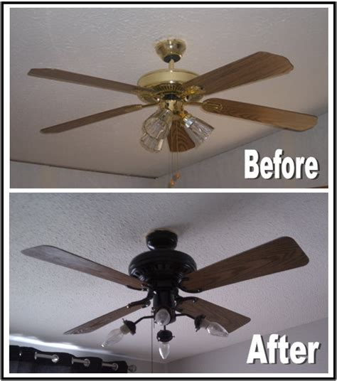 s diy projects diy ceiling fan makeover - Diy Ceiling Fan