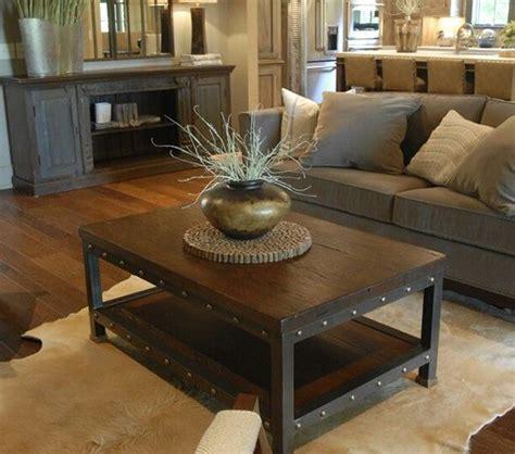 rustic livingroom furniture rustic furniture get that weary look