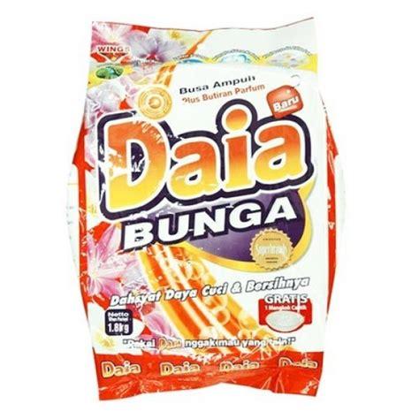 Daia Detergent White 1 8 Kg daia detergent bunga bag 1 8kg