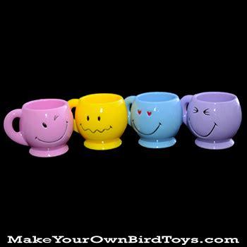 Smile Mug makeyourownbirdtoys smiley mug