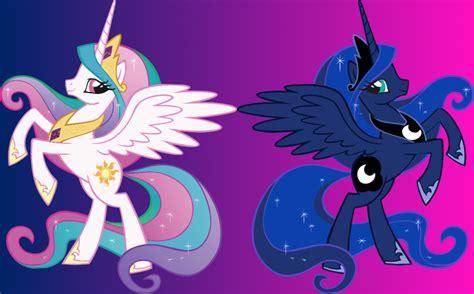 my little pony princess luna and celestia babies princess luna from princess celestia by ace of trades on
