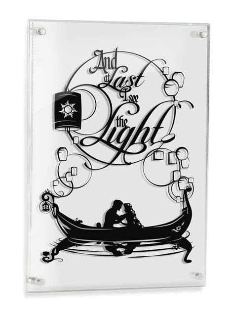 silhouette tattoo paper uk tangled rapunzel flynn i see the light silhouette hand