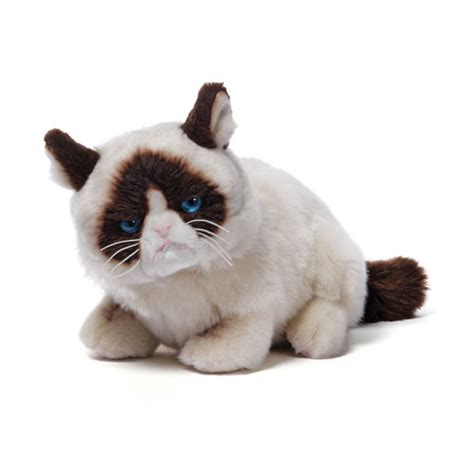 grumpy cat laying down plush gund grumpy cat plush