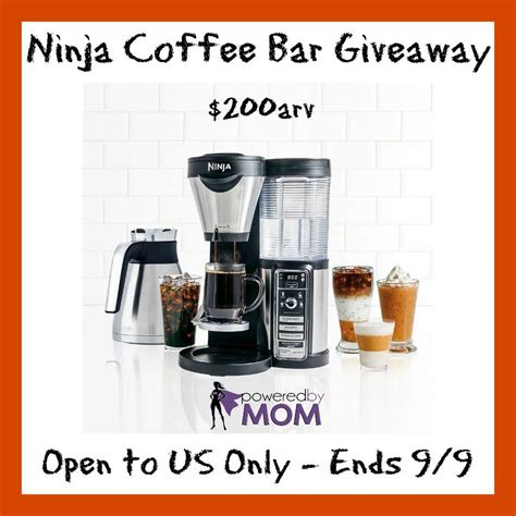 Ninja Coffee Bar #Giveaway ~ $200 value!!! (ends 9/9)   Africa's Blog