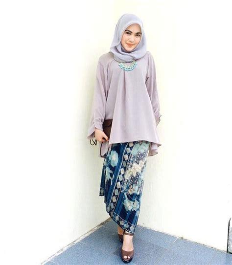 tutorial hijab pesta baju kebaya the 25 best contoh model baju batik ideas on pinterest