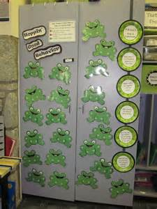 Each child has a frog with his or her name on it naturally they re