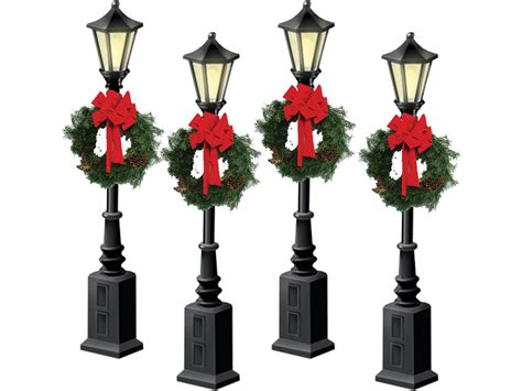 mini lights for christmas village christmas village street lights christmas decore