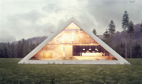pyramid house pyramid shaped house makes you feel like an ancient