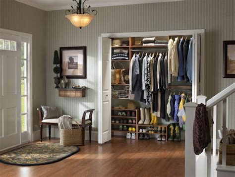Front Entrance Closet Ideas by Back To Winter Closet Organization Ideas For The Family