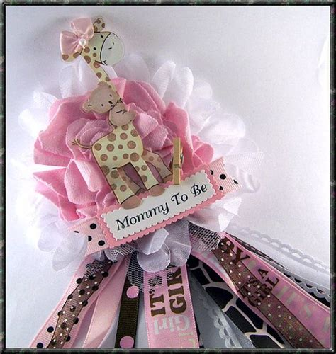Pink And Brown Giraffe Baby Shower Decorations by 17 Best Ideas About Baby Shower Giraffe On Baby Showers Boy Baby Shower Themes And