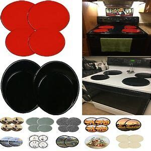 electric cooktop cover stove top covers 4pcs electric cook burner oven cover