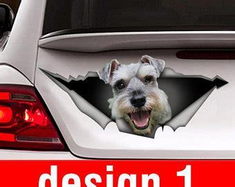 Schnauzer Car Stickers