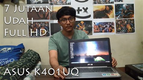 Laptop Asus I5 7 Jutaan review laptop gaming 7 jutaan asus k401uq intel i5 7200 kaby lake nvidia gt 940mx