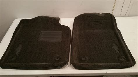 Oem Floor Mats Chevrolet by New Oem 2013 2014 Chevy Silverado Carpet Front Floor Mats