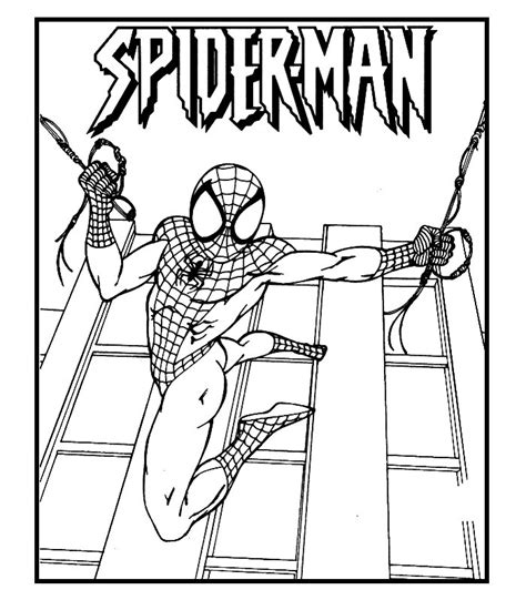 golden spiderman coloring page spiderman 6 disegni per bambini da colorare