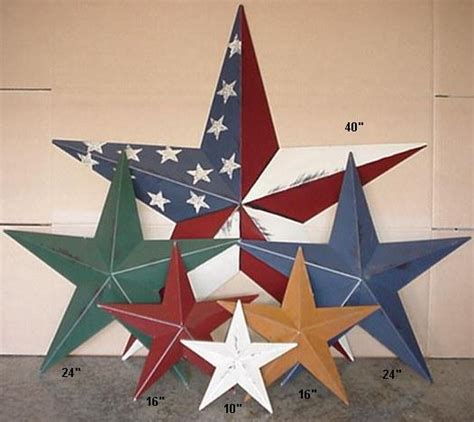 decorative stars for homes american metal tin barn star amish barn stars primitive