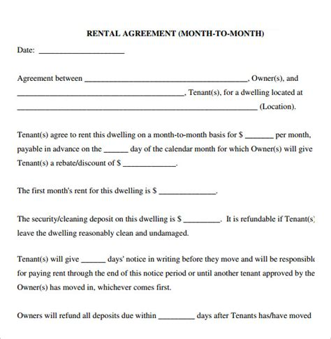 %name room rental agreement template   Free Michigan Sublease Agreement Form ? PDF Template