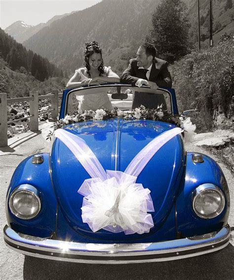Bow & Ribbons Tulle Wedding Car Decoration   The Big Day
