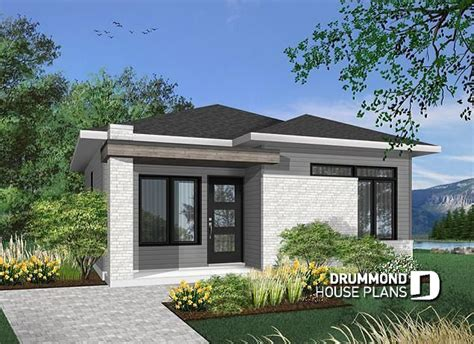 modern style home plans house plan w1704 bh detail from drummondhouseplans