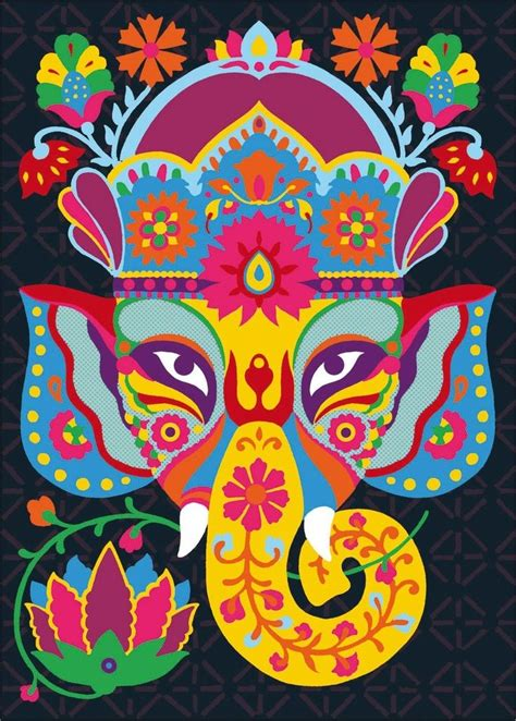 ganesha tattoo rug 145 best indian motifs images on pinterest embroidery