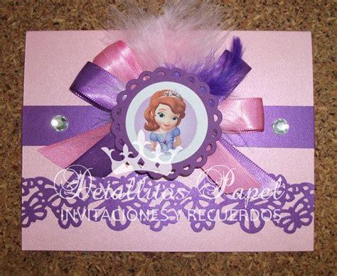 Pita Handmade Princess Sofia princess sofia invitation butterfly handmade por detallitospapel invitaciones