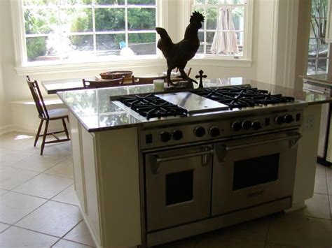 stove on kitchen island stove built in to kitchen island old farmhouse pinterest