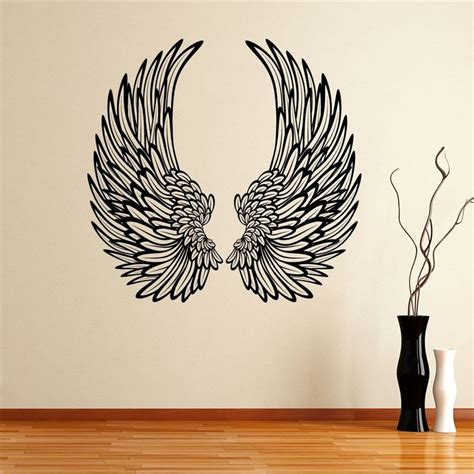 decorative angel wings wall sticker decal
