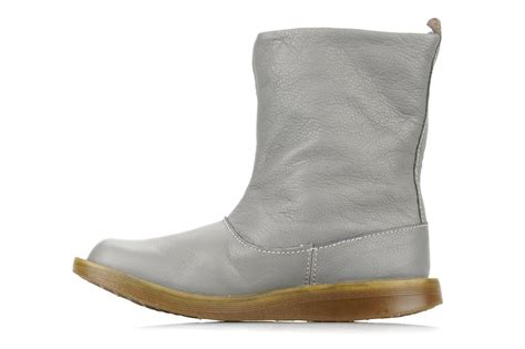dr martens slouch ankle boot tana ankle boots in grey at