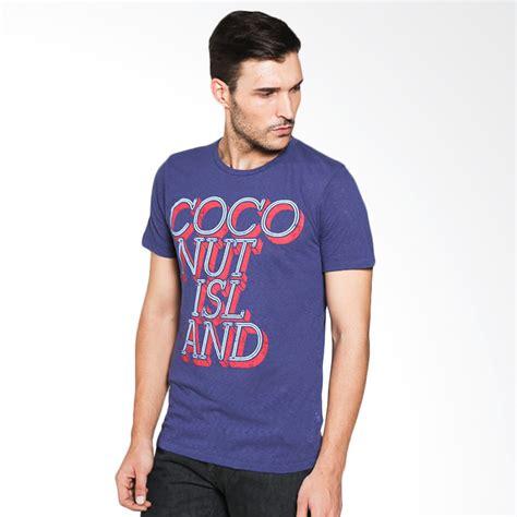 Kaos T Shirt Pria Jvsv Isl 951 jual coconut island easy amet207u01 purple kaos pria harga kualitas terjamin