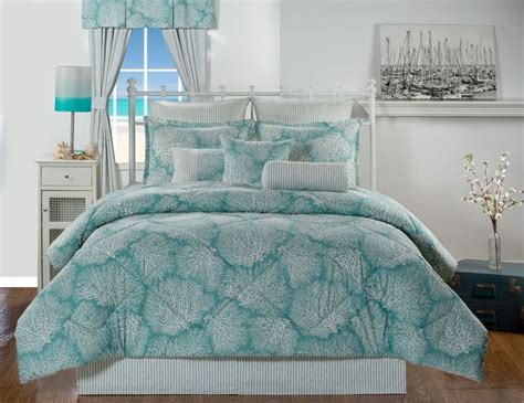 turquoise and coral bedding details about tybee island ocean coral turquoise coastal