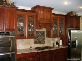 Kitchen Door Glass Painting Designs Kitchen Design Mesmerizing Painted Glass Kitchen Cabinet