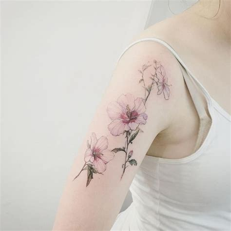 delicate tattoo 32 cutest flower designs for that inspire