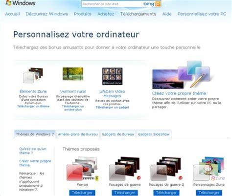 t 233 l 233 charger de nouveaux th 232 mes pour windows 7 autour du web