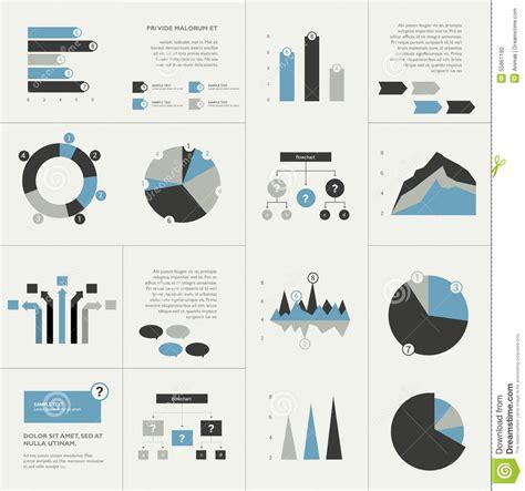 flow chart designer set of business flat design elements graphs charts flow