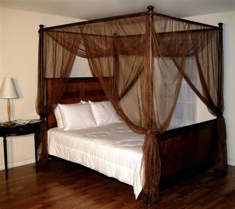 Four Poster Bed Curtains Drapes Pin By Elizabeth Jackson On Dreams Of A Home