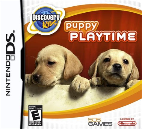 puppy playtime discovery puppy playtime ds
