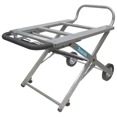 Table Saw Wheels by Makita 194093 8 Adjustable Portable Table Saw Stand With