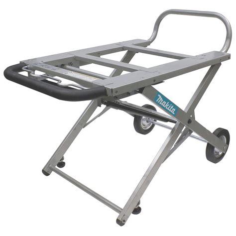 makita 194093 8 adjustable portable table saw stand with
