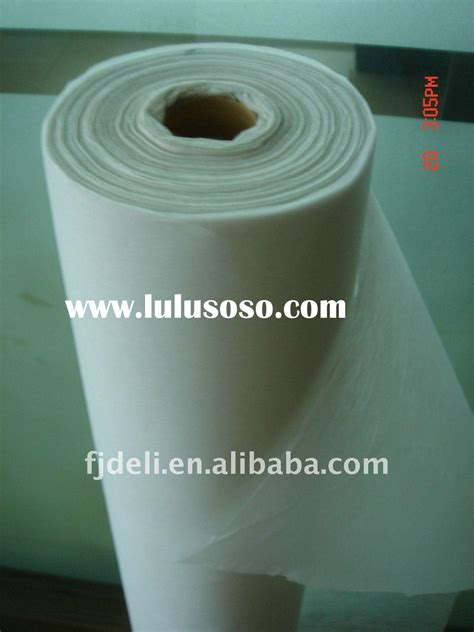 tear away stabilizer wholesale china manufacturer supplier tear away embroidery backing interlining line for sale