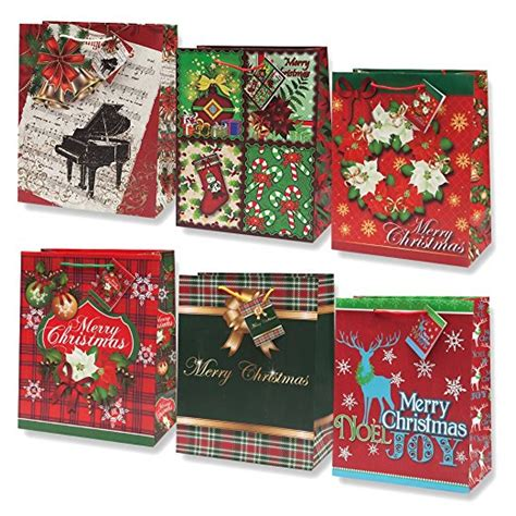 bulk christmas gifts to make 12 gift bags medium bulk assortment with handles and tags for wrapping gifts