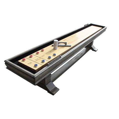 12 ft shuffleboard table montecito 12 ft shuffleboard table pool warehouse