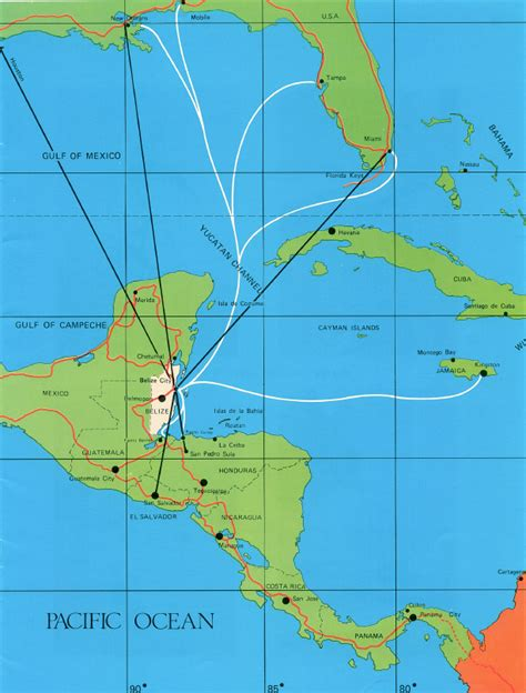 houston to jamaica map belize real estate at waterside location belize map