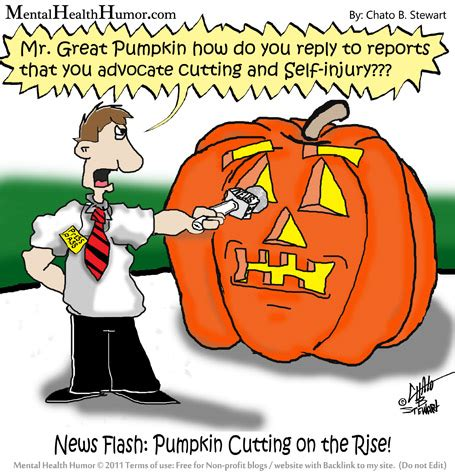 pumpkin jokes the great pumpkin and the shame of cutting mental health